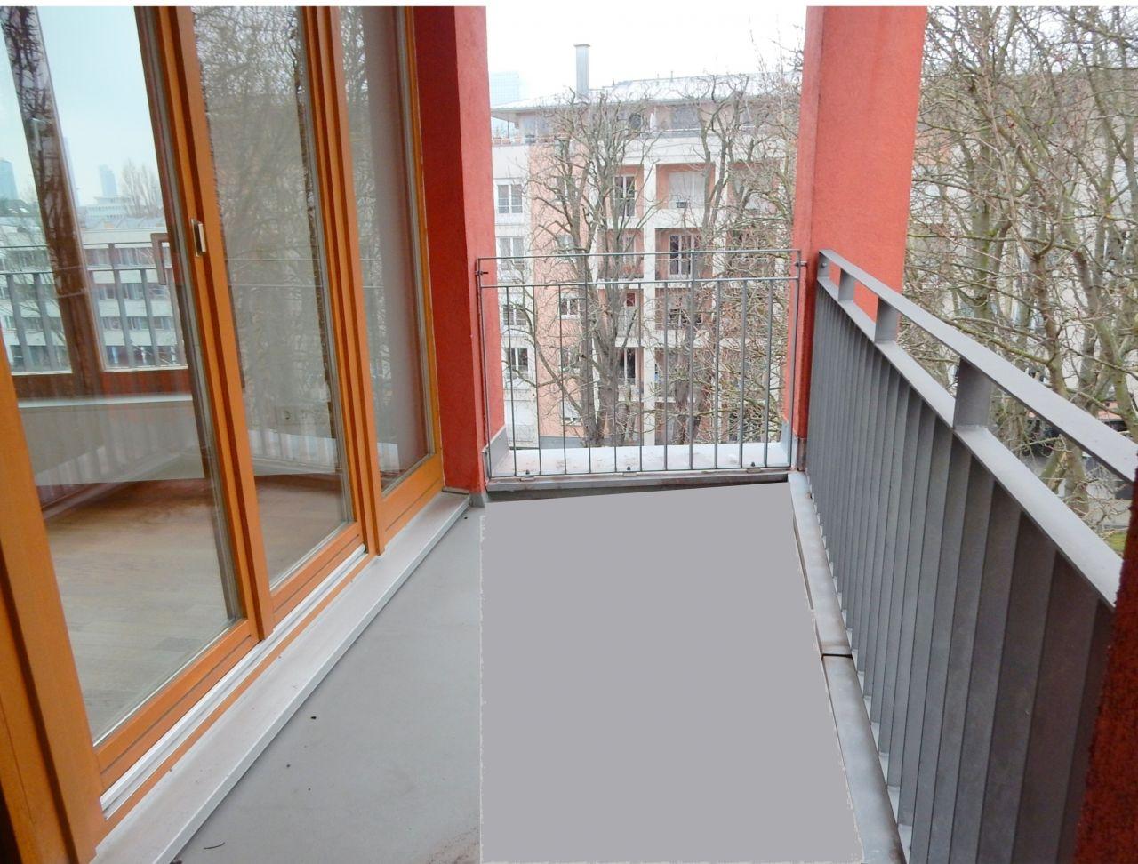 Balkon Nordseite
